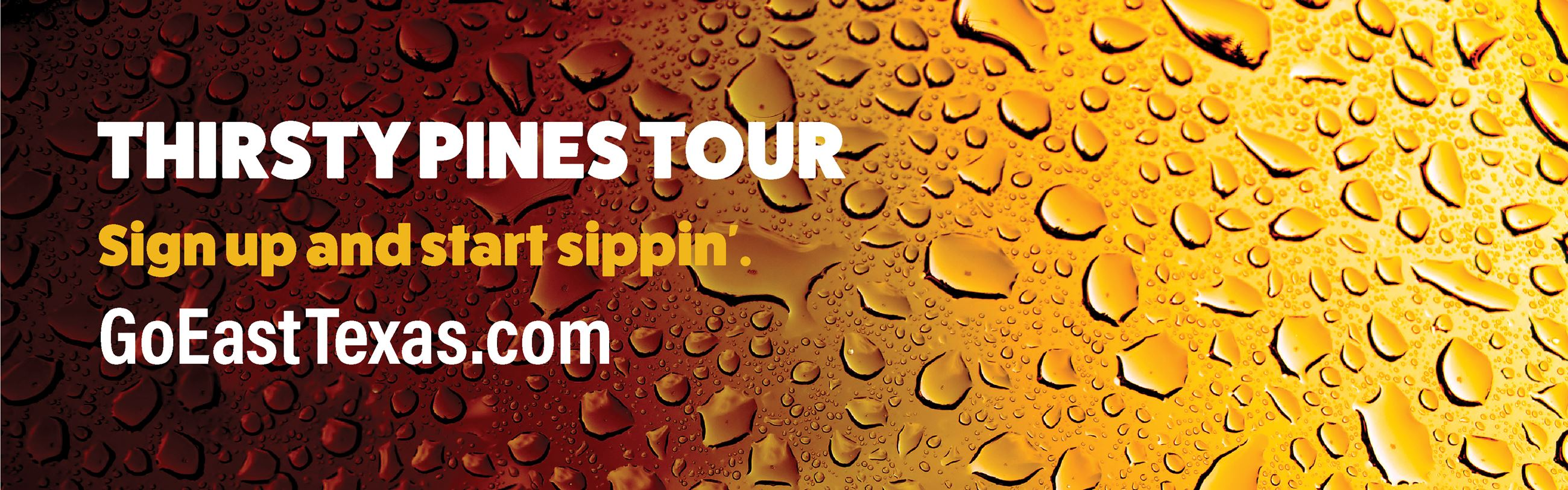 Thirsty Pines Tour Web Banner