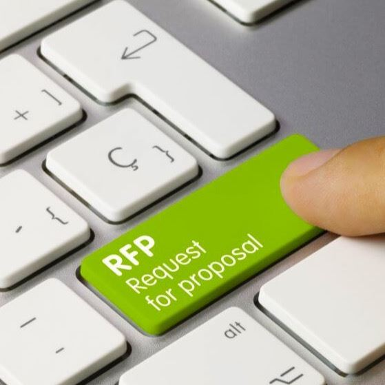 RFP button on a keyboard