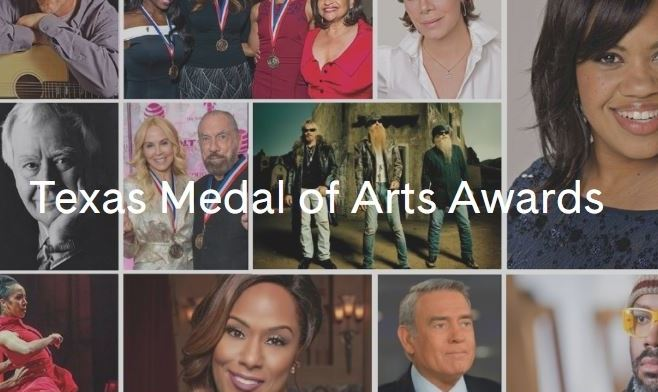 Texas Medal of Arts collage